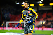 Francis Coquelin (34) of Arsenal away team before the Premier League match between Bournemouth and Arsenal at the Vitality Stadium, Bournemouth, England on 3 January 2017. Photo by Graham Hunt.