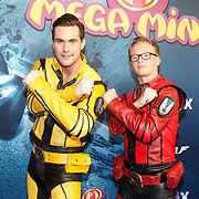NLD/Amsterdam/20151209 - Premiere Mega Mindy vs. ROX, Team Rox, Jeremy Vandoorne en Jelle Florizoone