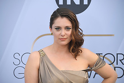 January 27, 2019 - Los Angeles, California, U.S - RACHEL BLOOM during silver carpet arrivals for the 25th Annual Screen Actors Guild Awards, held at The Shrine Expo Hall. (Credit Image: © Kevin Sullivan via ZUMA Wire)