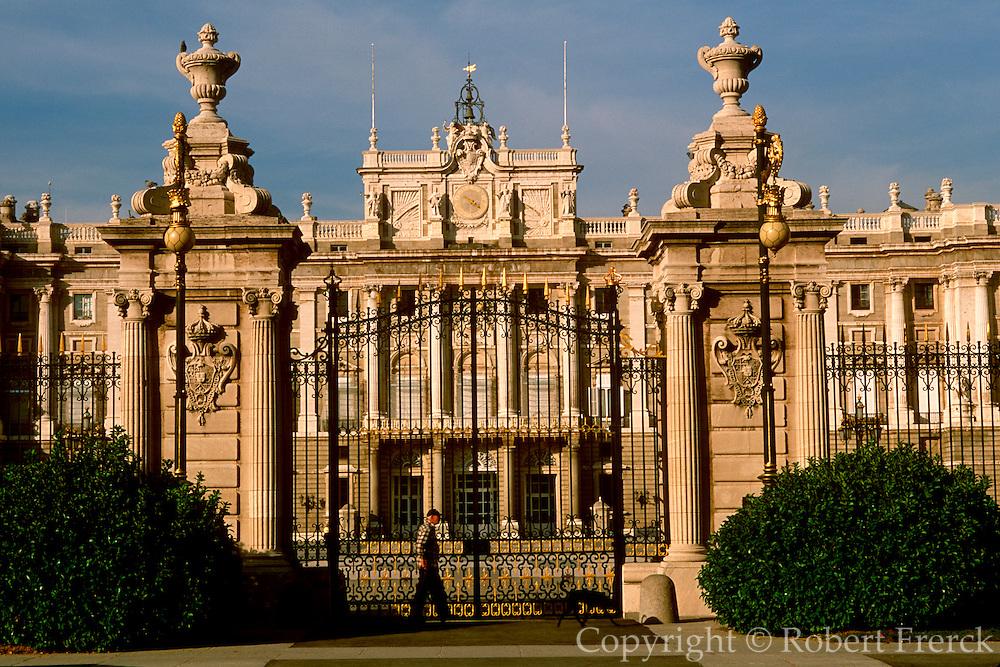 SPAIN, MADRID, MONUMENTS Palacio Real or Royal Palace; 1734