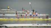 Chungju, South Korea. 2013 FISA World Rowing Championships, General Views of the  Tangeum Lake International Regatta Course. 09:07:23  Saturday  24/08/2013 [Mandatory Credit. Peter Spurrier/Intersport Images]