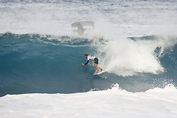 December 11, 2017 - Haleiwa, Hawaii, U.S. - Jack Freestone of Australia will surf in Round Two of the 2017 Billabong Pipe Masters after placing third in Heat 7 of Round One at Pipe, Oahu, Hawaii, USA...Billabong Pipe Masters 2017. (WSL via ZUMA Wire/ZUMAPRESS.com)