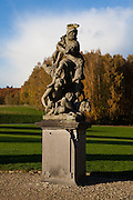Statue in the grounds of the Chateau de la Hulpe