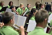 Nederland, Nijmegen, 31-10-2017 Jeugdorkest, harmonieorkest, Tarcisius  repeteert in Brakkenstein.Foto: Flip Franssen
