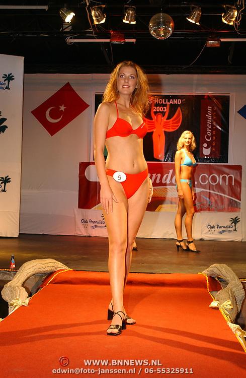Miss Nederland 2003 reis Turkije, Miss Friesland,