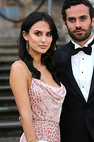 Lucy Watson and James Dunmore, Our Planet - Global premiere, Natural History Museum, London, UK, 04 April 2019, Photo by Richard Goldschmidt