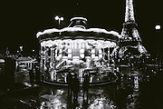 Carrousel near the Eiffel Tower