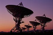 Radio telescopes at the Very Large Array near Socorro, New Mexico