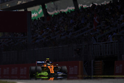 May 10, 2019 - Barcelona, Spain - Lando Norris of United Kingdom driving the (4) McLaren F1 Team MCL34 during practice for the F1 Grand Prix of Spain at Circuit de Barcelona-Catalunya on May 10, 2019 in Barcelona, Spain. (Credit Image: © Jose Breton/NurPhoto via ZUMA Press)