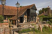 The Royal Standard Pub near London. The pub has a traditional seventeenth century theme.