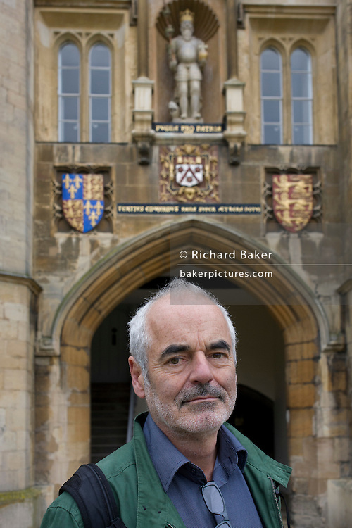 Mathematician and Risk guru, Professor David Spiegelhalter at the Centre for Mathematical Sciences, out and about in Cambridge.
