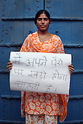 Durga Meena - 18 yrs.Hindu.Kukas Village, Jaipur, Rajastan.Final year at school.'I want to be able to stand on my own two feet'.