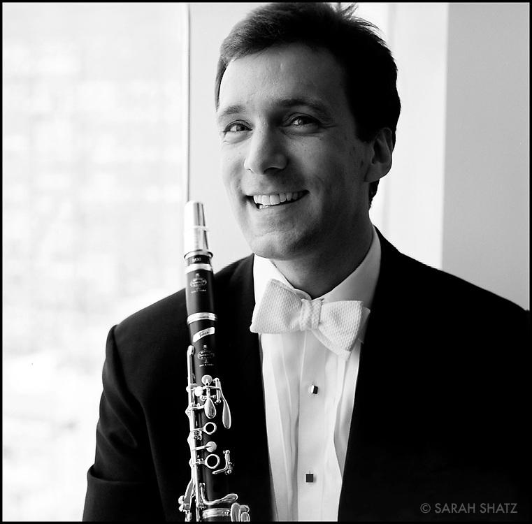 JON MANASSE, clarinetist