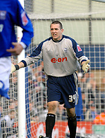 Photo: Ashley Pickering.<br />Ipswich Town v Southend United. Coca Cola Championship. 10/03/2007.<br />Ipswich keeper Lewis Price