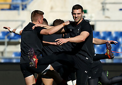 February 8, 2019 - Rome, Italy - Wales captain's run - Rugby Guinness Six Nations .Wales rugby captain's run  at Olimpico Stadium in view of the match versus Italy. Rome, Italy on February 8, 2019. (Credit Image: © Matteo Ciambelli/NurPhoto via ZUMA Press)