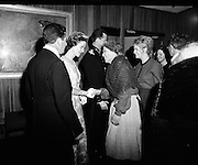 Belgian Royal Visit - King Baudouin and Queen Fabiola attend a party at the Abbey Theatre, Dublin..16.05.1968