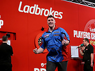 Daryl Gurney during the Final 2018 Players Championship Finals at Butlins Minehead, Minehead, United Kingdom on 25 November 2018.