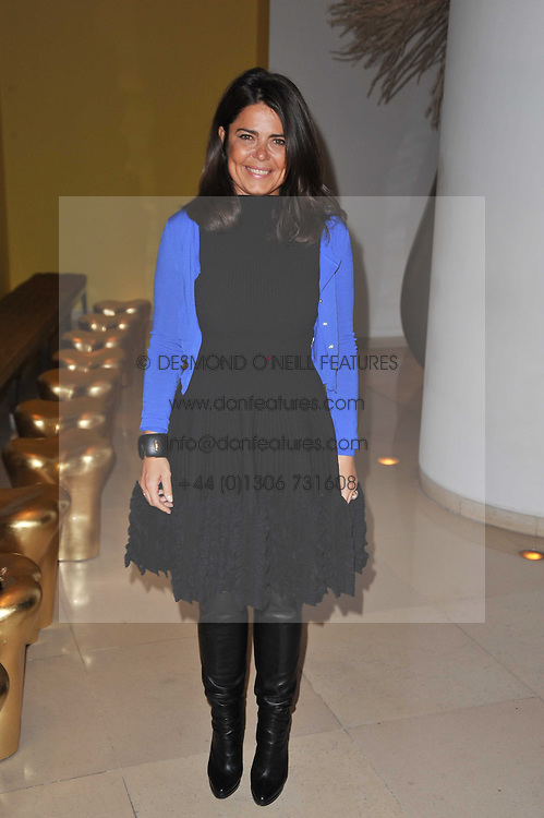DANIELA HELAYEL at a Burns Night dinner in aid of cancer charity CLIC Sargent held at St.Martin's Lane Hotel, London on 25th January 2011.