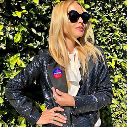 """Rachel Zoe releases a photo on Twitter with the following caption: """"""""I VOTED 🙌 so should you. It has never been more important to use our voices. Vote for your future and for our children. ❤️💙🇺🇸#lovewins XoRZ"""""""". Photo Credit: Twitter *** No USA Distribution *** For Editorial Use Only *** Not to be Published in Books or Photo Books ***  Please note: Fees charged by the agency are for the agency's services only, and do not, nor are they intended to, convey to the user any ownership of Copyright or License in the material. The agency does not claim any ownership including but not limited to Copyright or License in the attached material. By publishing this material you expressly agree to indemnify and to hold the agency and its directors, shareholders and employees harmless from any loss, claims, damages, demands, expenses (including legal fees), or any causes of action or allegation against the agency arising out of or connected in any way with publication of the material."""
