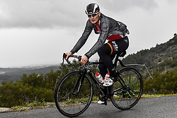 December 15, 2017 - Majorca, SPAIN - German Andre Greipel of Lotto Soudal pictured in action during a press day during Lotto-Soudal cycling team stage in Mallorca, Spain, ahead of the new cycling season, Friday 15 December 2017. BELGA PHOTO DIRK WAEM (Credit Image: © Dirk Waem/Belga via ZUMA Press)