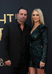 Randall Emmett and Lala Kent at the Los Angeles special screening of 'Midnight In The Switchgrass' held at the Regal LA Live in Los Angeles, USA on July 19, 2021.