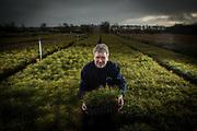 Editorial portrait photograph Alba Trees East Lothian