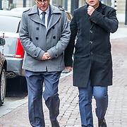 NLD/Amsterdam//20170309 - Herdenkingsdienst Guus Verstraete, Jon van Eerd en partner