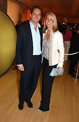 HUGO & BEATRICE WARRENDER at a party at The Sanderson Hotel, Bernnnnners Street, London in aid of Sargent Cancer Care for Children on 7th July 2004.