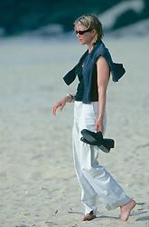 Dana Nichols On Beach In Yakushima