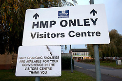 © under license to London News Pictures. 01/11/2010. TODAY PICTURE General views of Onley Prison near Rugby. Union chiefs today called for an investigation into the scandal-hit prison as a fifth female officer resigned after being accused of having sex with an inmate.