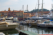 Saint-Tropez, France. Port and Yacht club