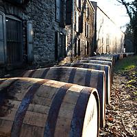 Barrel ricking at Woodford Reserve