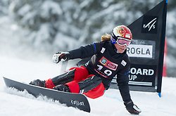 Nicolien Sauerbreij of Netherlands during FIS Snowboard World Cup Rogla 2013 in Parallel Giant slalom, on February 8, 2013 in Rogla, Slovenia. (Photo By Vid Ponikvar / Sportida.com)