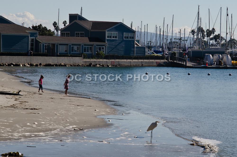 Baby Beach in the Dana Point Harbor