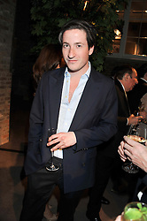 BLAISE PATRICK at the launch party for Spectator Life hosted by Andrew Neil at Asprey, 167 New Bond Street, London on 28th March 2012.
