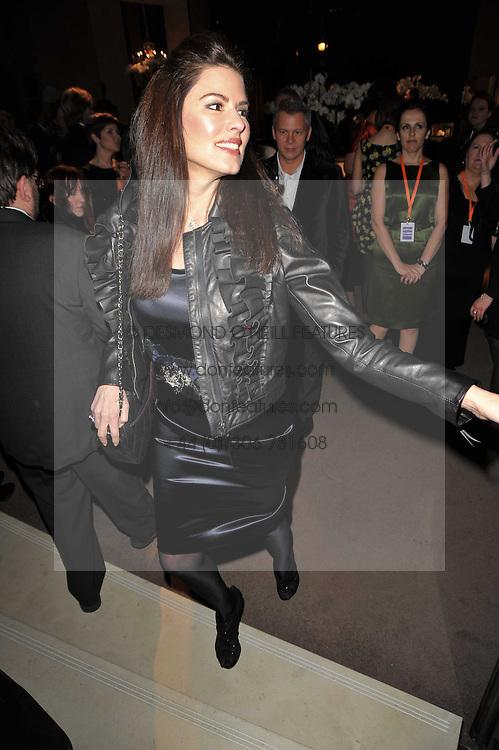 CHRISTINA ESTRADA-JUFFALI at the BAFTA Nominees party 2011 held at Asprey, 167 New Bond Street, London on 12th February 2011.