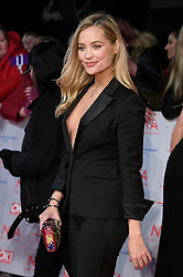 Laura Whitmore attending the National Television Awards 2018 held at the O2, London. Photo credit should read: Doug Peters/EMPICS Entertainment