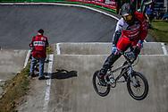 #959 (SCHOTMAN Mitchel) NED during round 4 of the 2017 UCI BMX  Supercross World Cup in Zolder, Belgium.