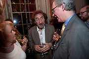 HOWARD JACOBSON, The 2009 Literary Review Bad sex in Fiction award. In and Out Club. St. James's Sq. London. 30 November 2009