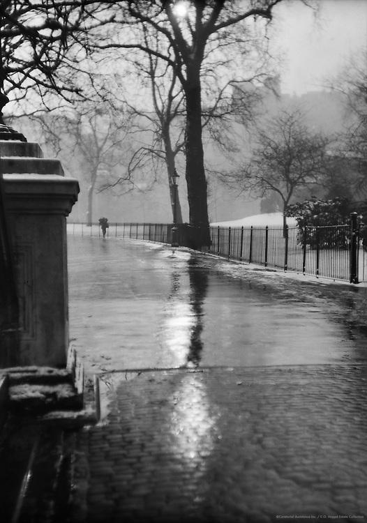 Winter Street Scene, London, 1925