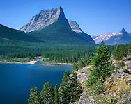 Along The Shore Of Saint Mary Lake, Glacier National Park, Montana