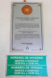 Pablo Neruda House in Santiago