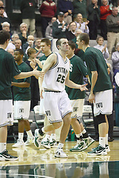 17 December 2011:  Jordan Zimmer during an NCAA mens division 3 basketball game between the Washington University Bears and the Illinois Wesleyan Titans in Shirk Center, Bloomington IL
