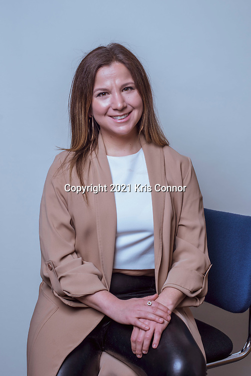 Producer and reporter Tijana Jokanovic photographed on March 19th, 2021 in New York City. Photo by Kris Connor