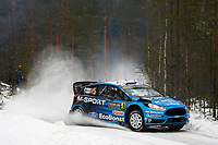 05M-Sport World Rally Team, Ostberg Mads, Floene Ola, Ford, Fiesta Wrc, Action during the 2016 WRC World Rally Car Championship, Sweden rally from February  12 to 14, at Hagfors - Photo Francois Baudin / DPPI