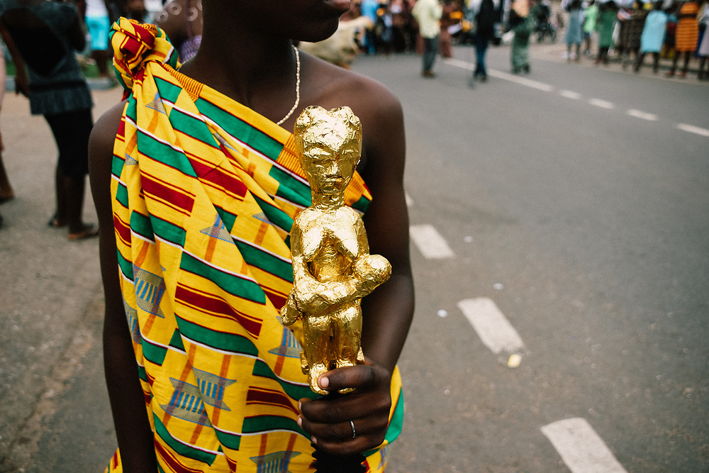 Yam Festival by Antoinette Dumegah