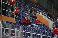 (SCRJ) vor dem Spiel der National League zwischen den SC Rapperswil-Jona Lakers und dem HC Ambri-Piotta, am Samstag, 14. September 2019, in der St. Galler Kantonalbank Arena Rapperswil-Jona. (Thomas Oswald)