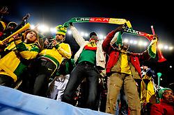 19.06.2010, Loftus Versfeld Stadium, Pretoria, RSA, FIFA WM 2010, Cameroon (CMR) vs Denmark (DEN), im Bild Tifosi del Camerun, Fans from Cameroon.EXPA Pictures © 2010, PhotoCredit: EXPA/ InsideFoto/ Giorgio Perottino +++ for AUT and SLO only +++ / SPORTIDA PHOTO AGENCY