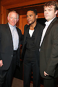 l to r:  at the Maxwell Press conference announcing his first new album in eight years, ' BLACKsummers'night,'  held at The Sony Club on April 28, 2009 in New York City