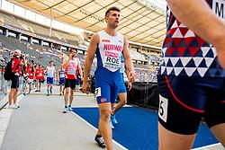 August 7, 2018 - Berlin, GERMANY - 180807 Martin Roe of Norway during the European Athletics Championships on August 7, 2018 in Berlin..Photo: Vegard Wivestad GrÂ¿tt / BILDBYRN / kod VG / 170196 (Credit Image: © Vegard Wivestad Gr¯Tt/Bildbyran via ZUMA Press)